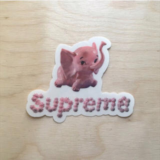 シュプリーム(Supreme)の送料無料【Supreme】シュプリーム ステッカー デカール Elephant(ステッカー)