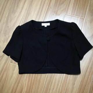 スズタン(suzutan)のお値下げ*7号  ブラック ボレロ  礼服 喪服(ボレロ)