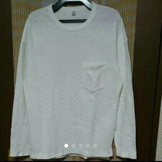 ユニクロ(UNIQLO)のロンT ロングティーシャツ ユニクロ(Tシャツ/カットソー(七分/長袖))