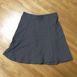 ユニクロ(UNIQLO)の【最終値下げ】 ユニクロ ボーダースカート ミニスカート(ミニスカート)