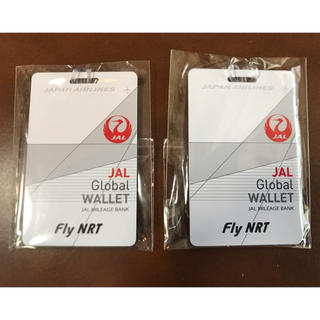 ジャル(ニホンコウクウ)(JAL(日本航空))のJALネームタグ2点(旅行用品)