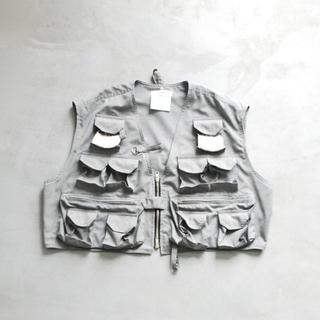 ディガウェル(DIGAWEL)のdigawel fishing vest gray(ベスト)