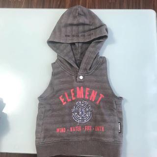 エレメント(ELEMENT)のELEMENTベストパーカー(ジャケット/上着)