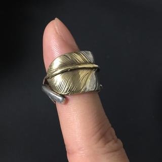 ゴローズ(goro's)のゴローズ goro's 先金フェザーリング 左向き 正規品(リング(指輪))