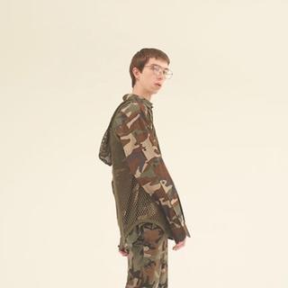 ジョンローレンスサリバン(JOHN LAWRENCE SULLIVAN)の17ss JOHN LAWRENCE SULLIVAN カモフラ シャツ 美品(シャツ)