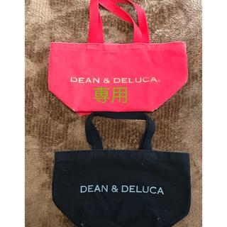 ディーンアンドデルーカ(DEAN & DELUCA)のDEAN &DELUCA 赤と黒トート(トートバッグ)
