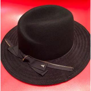 ランバンオンブルー(LANVIN en Bleu)の新品、タグつき LANVIN en Bleu 帽子(ハット)