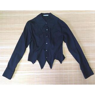 PUTUMAYO - プトマヨ コウモリ襟 長袖 ブラウス 黒