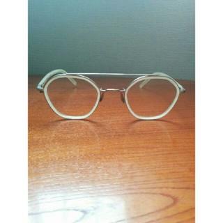 アヤメ(Ayame)のayame HEX ツーブリッジ ミルキーホワイト アヤメ 眼鏡(サングラス/メガネ)