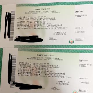 サマソニチケット 2019大阪 8/16