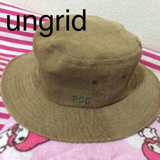 アングリッド(Ungrid)の完売人気バケット♡ungrid(ハット)