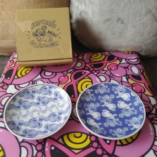 ヒステリックミニ(HYSTERIC MINI)のヒスミニ和皿(小皿2枚set)(ノベルティグッズ)