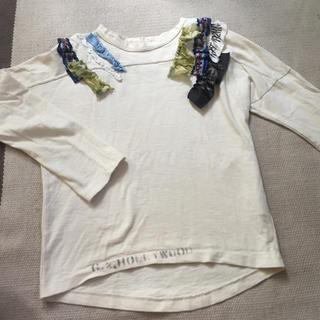 ゴートゥーハリウッド(GO TO HOLLYWOOD)のゆうゆうしん様  ゴートゥーハリウッド フリルTシャツ 140cm(Tシャツ/カットソー)