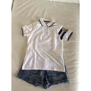 モンクレール(MONCLER)のポロシャツ  デニム ショートパンツ(ポロシャツ)