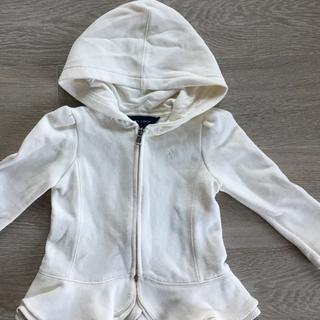 ラルフローレン(Ralph Lauren)のラルフローレン 女の子用 パーカー 超美品 サイズ12M(ジャケット/上着)