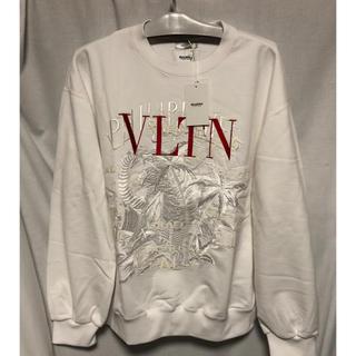 バレンシアガ(Balenciaga)の本日限定価格!doublet varentino カオス刺繍スウェット ホワイト(スウェット)