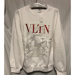 Balenciaga - 本日限定価格!doublet varentino カオス刺繍スウェット ホワイト