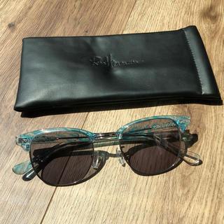 ロンハーマン(Ron Herman)のRon Herman × 金子眼鏡 サングラス ブルー(サングラス/メガネ)