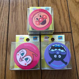 アンパンマン(アンパンマン)の新品 アンパンマン マグネット付き マスキングテープ 3つセット(テープ/マスキングテープ)