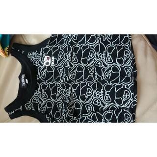 ザショップティーケー(THE SHOP TK)の90TKSAPKIDブラック(Tシャツ/カットソー)