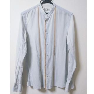 マルタンマルジェラ(Maison Martin Margiela)のマルジェラ バンドカラーシャツ(シャツ)