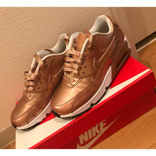 NIKE(ナイキ)のキッズ☆ナイキエアマックス90 キッズ/ベビー/マタニティのキッズ靴/シューズ (15cm~)(スニーカー)の商品写真