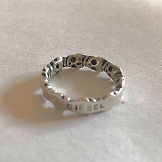 ディーゼル(DIESEL)のDIESELスカルリング(リング(指輪))