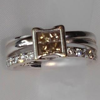 K18WGダイヤモンドリング(リング(指輪))