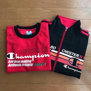 チャンピオン(Champion)のチャンピオン★半袖Tシャツ&ジャージ140(ジャケット/上着)