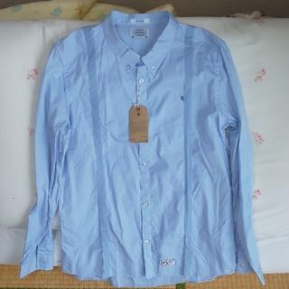 ダブルタップス(W)taps)の新品WTAPSボタンダウンシャツ水色XL(シャツ)