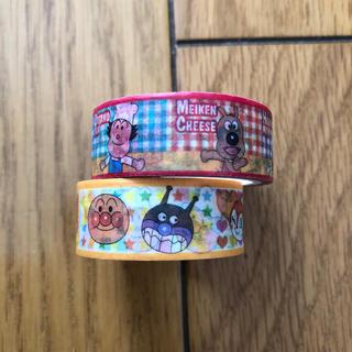アンパンマン(アンパンマン)のアンパンマン めばえ マスキングテープ 2本セット(テープ/マスキングテープ)