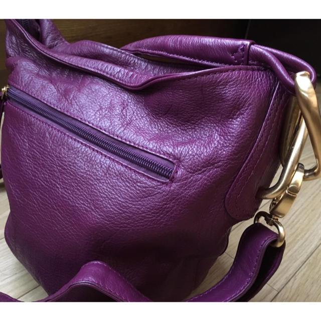 PAPILLONNER(パピヨネ)の値下げ可  パピヨネ  本革 ショルダーバッグ  レディースのバッグ(ショルダーバッグ)の商品写真