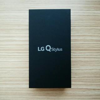 LG Electronics - LG Q stylus LMQ710XM 新品 SIMフリー モロッカンブルー