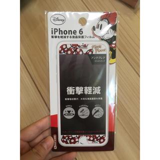 ディズニー(Disney)のiPhone6 保護フィルム ミニー ディズニー 新品(保護フィルム)