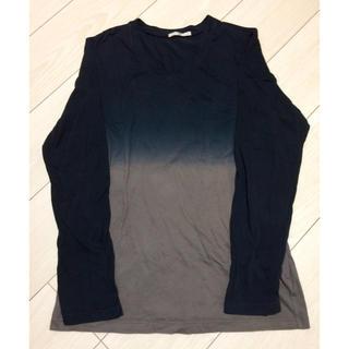 ハレ(HARE)のグラデーション Vネック ロンT(Tシャツ/カットソー(七分/長袖))