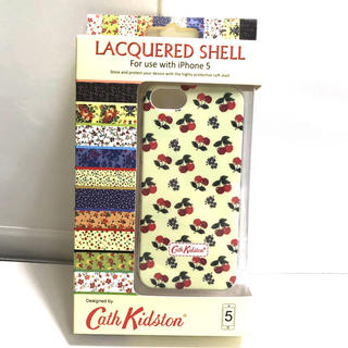 キャスキッドソン(Cath Kidston)の新品CathKidsonキャスキッドソンiPhone5ジャケットカバーケース花柄(iPhoneケース)