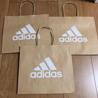 adidas - adidas アディダス 紙袋 小 ショッパー セット