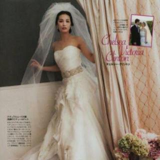 ヴェラウォン(Vera Wang)の【美品】verawang 三段ベール バブルベール(ヘッドドレス/ドレス)