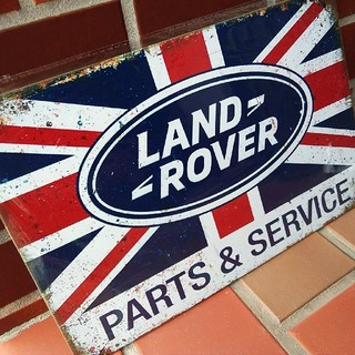 Rover - ランドローバー クラシック 金属製 看板