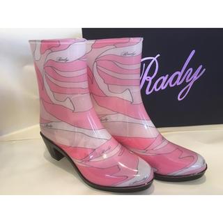 レディー(Rady)の新品未使用 Rady レインブーツ(レインブーツ/長靴)