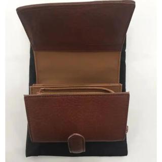 ムジルシリョウヒン(MUJI (無印良品))の無印 ヌメ革 二つ折り 財布(財布)
