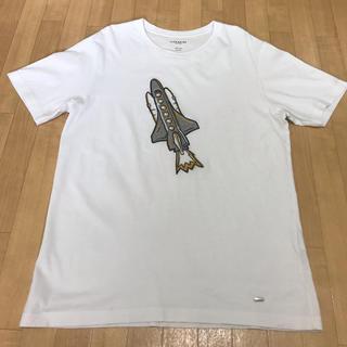 コーチ(COACH)のCOACH 宇宙ロケットTシャツ(Tシャツ/カットソー(半袖/袖なし))