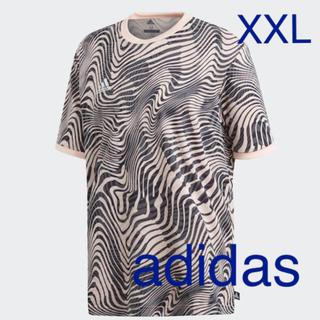 アディダス(adidas)の新品  未使用  アディダス  Tシャツ 2枚  ☆  XXL(Tシャツ/カットソー(半袖/袖なし))
