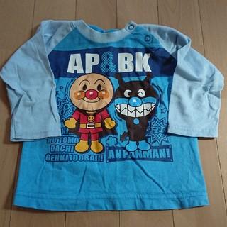 バンダイ(BANDAI)のBANDAI アンパンマン シャツ 80 記名あり(Tシャツ)