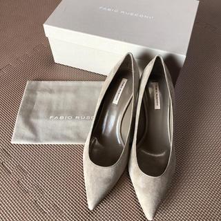 トゥモローランド(TOMORROWLAND)の新品 ファビオルスコーニ パンプス 39(ローファー/革靴)