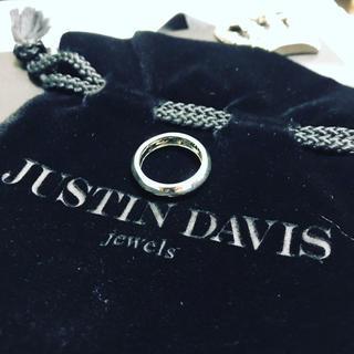 ジャスティンデイビス(Justin Davis)の[値下げ]ジャスティンデイビス リング 13号 CONNECTED HEARTS(リング(指輪))