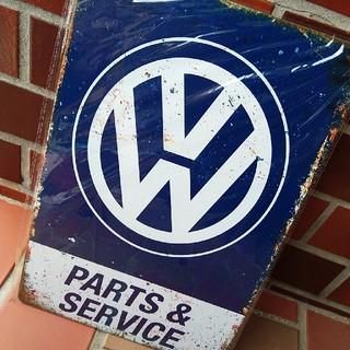 Volkswagen - フォルクスワーゲン クラシック 金属製 看板