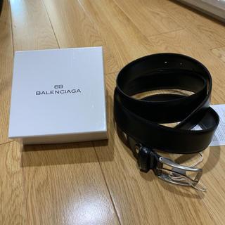 バレンシアガ(Balenciaga)の新品 balenciaga ベルト ブラック ビジネス バレンシアガ(ベルト)