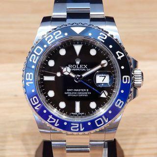 ロレックス(ROLEX)の値下 新品同様 ロレックス 116710BLNR 研磨済 箱保 GMTマスター2(腕時計(アナログ))