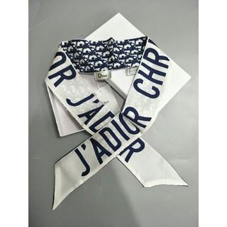 ディオール(Dior)の正規品DIOR デイオール リボンスカーフ 大人気(バンダナ/スカーフ)